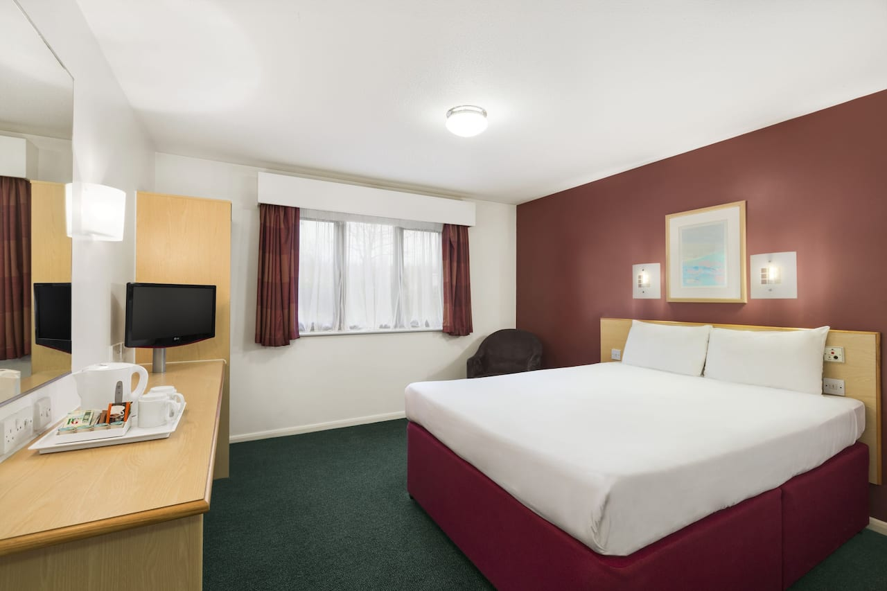 at the Days Inn London Stansted Airport in Bishops Stortford, United Kingdom