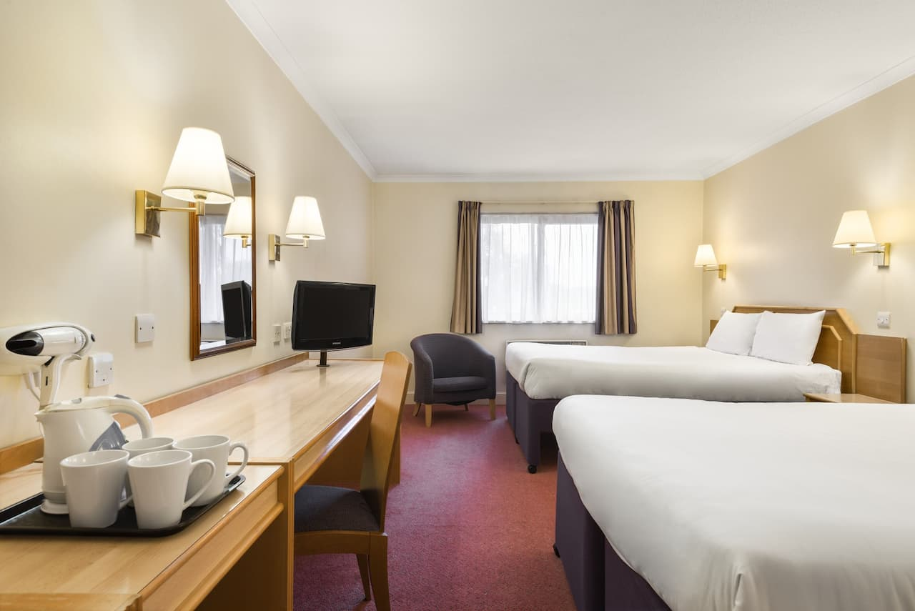 at the Days Inn Chester East in Cheshire, United Kingdom