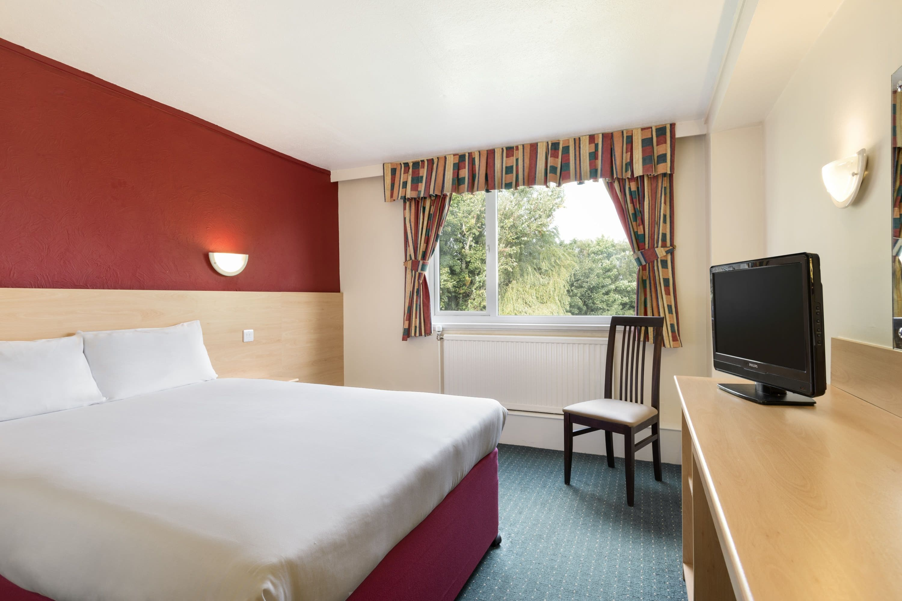 Guest room at the Days Inn Charnock Richard M6 in Chorley, Other than US/Canada