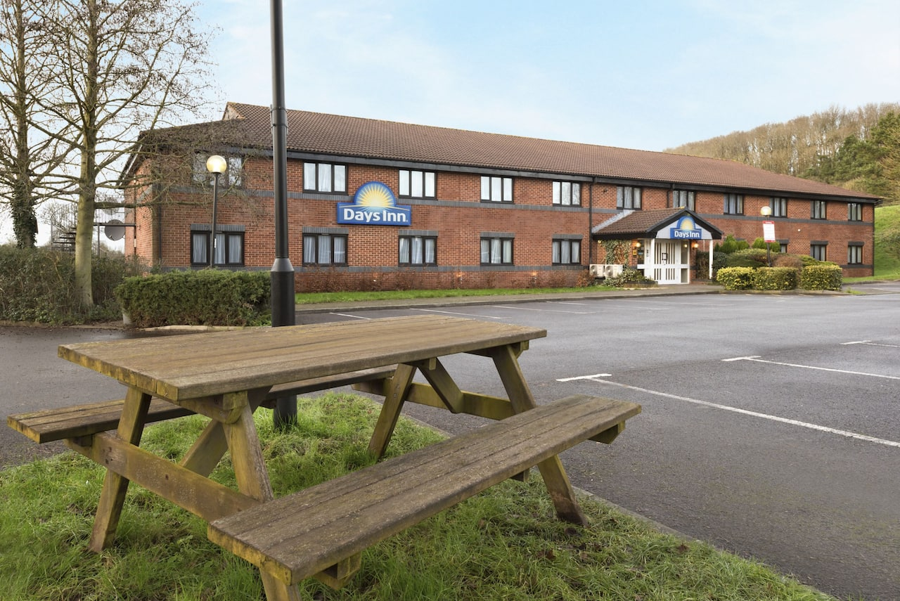 at the Days Inn Michaelwood M5 in Gloucestershire, United Kingdom