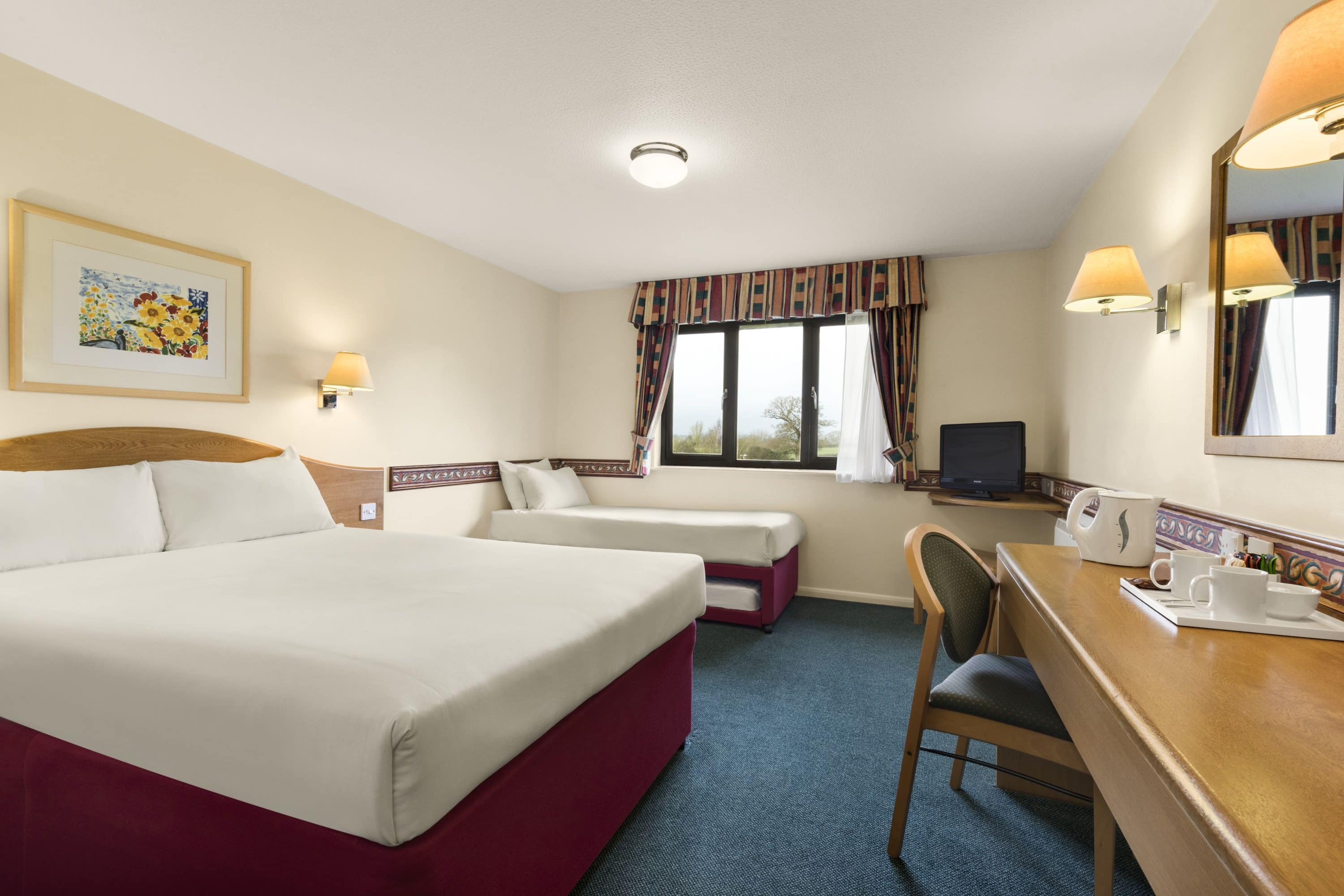 Guest room at the Days Inn Michaelwood M5 in Gloucestershire, Other than US/Canada