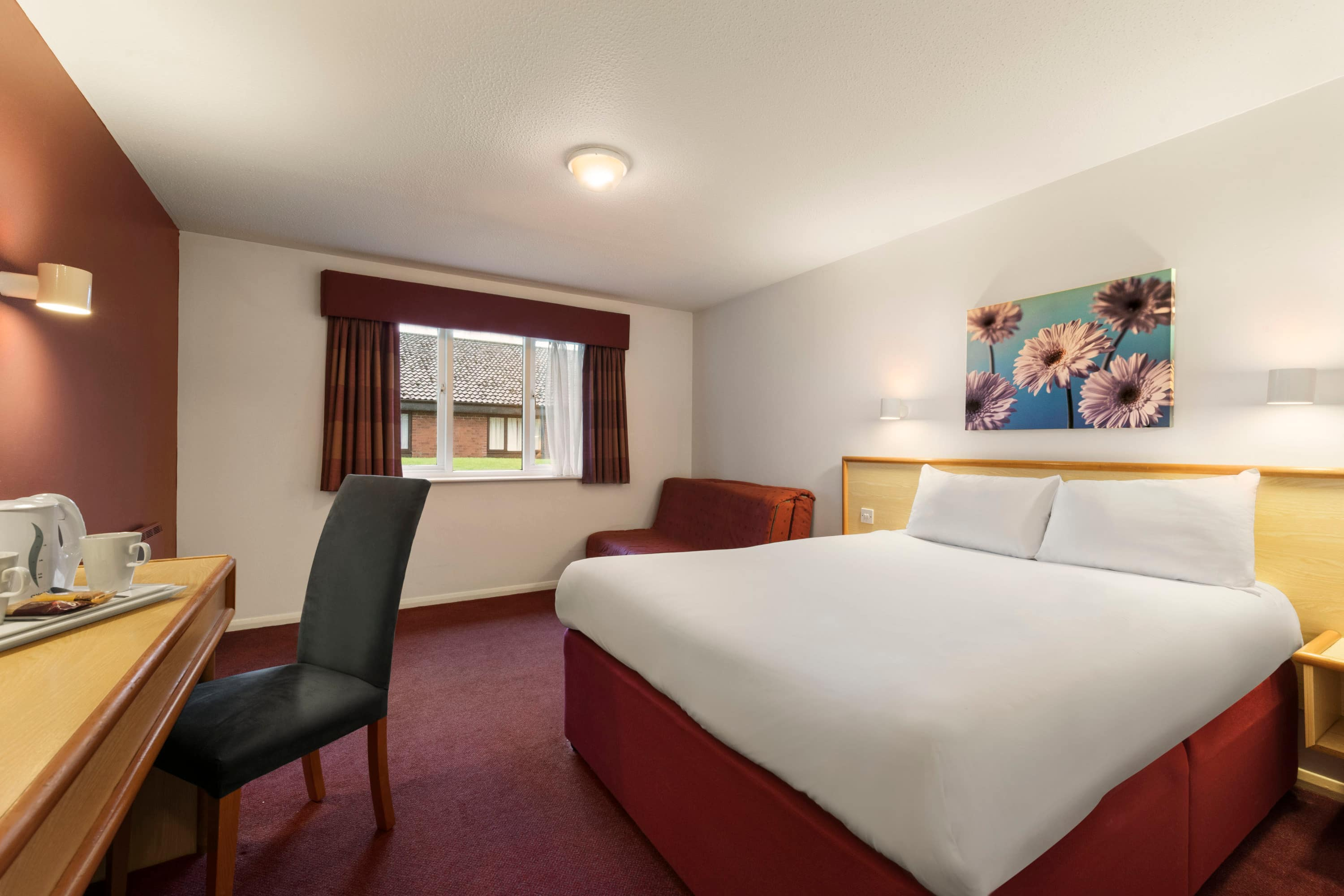 Guest room at the Days Inn Gretna Green M74 in Gretna Green, Other than US/Canada