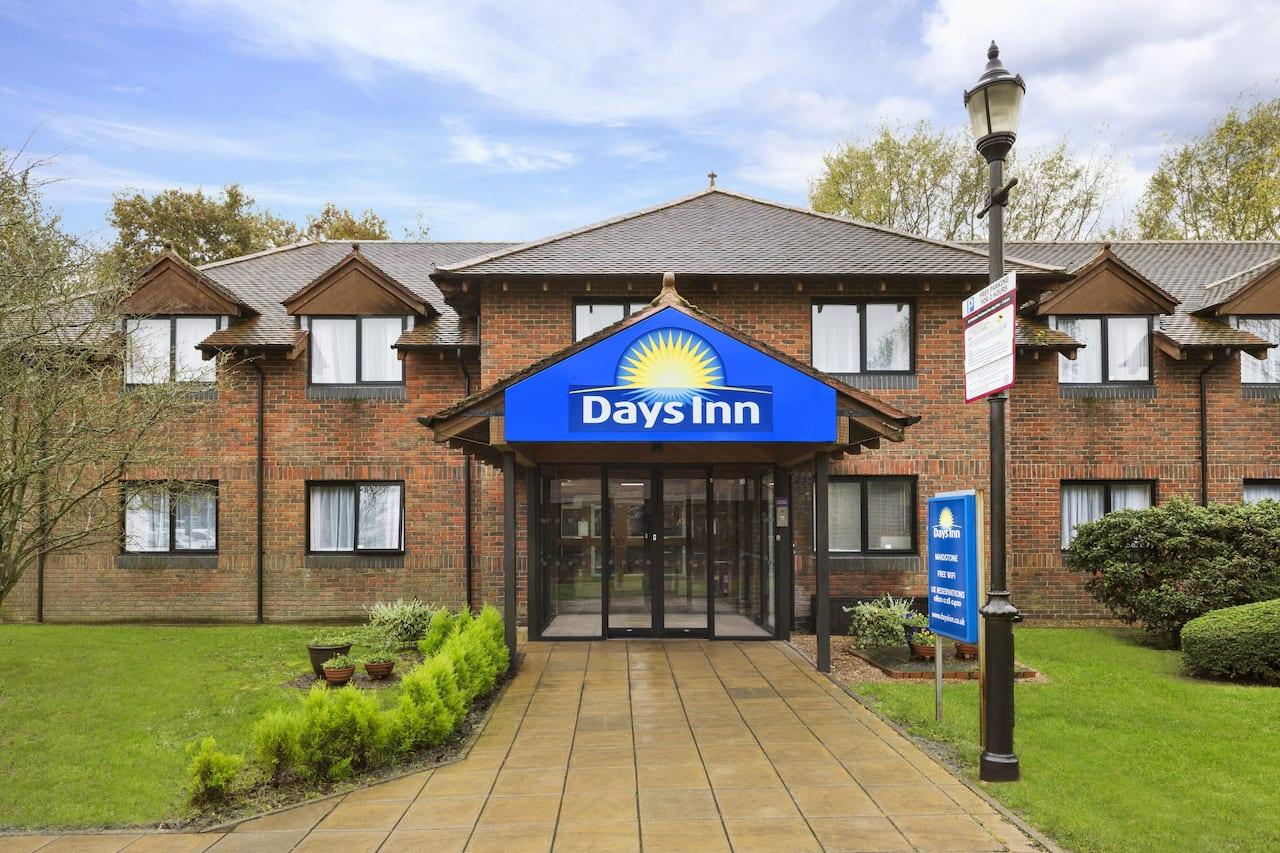 at the Days Inn Maidstone in Hollingbourne, United Kingdom