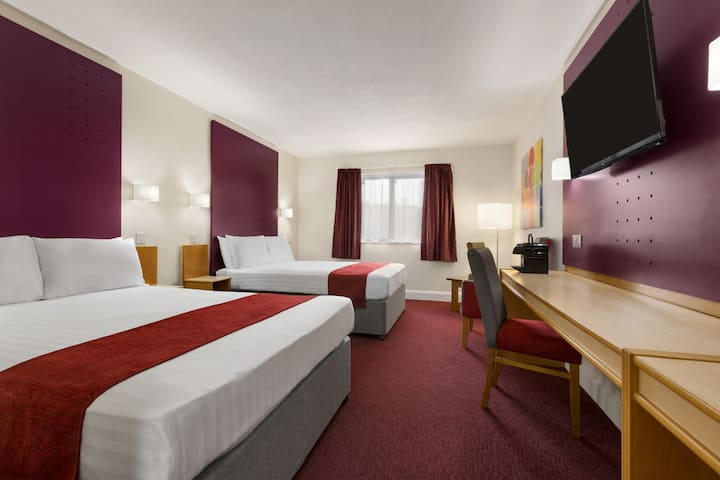 Guest room at the Days Inn Maidstone in Hollingbourne, Other than US/Canada