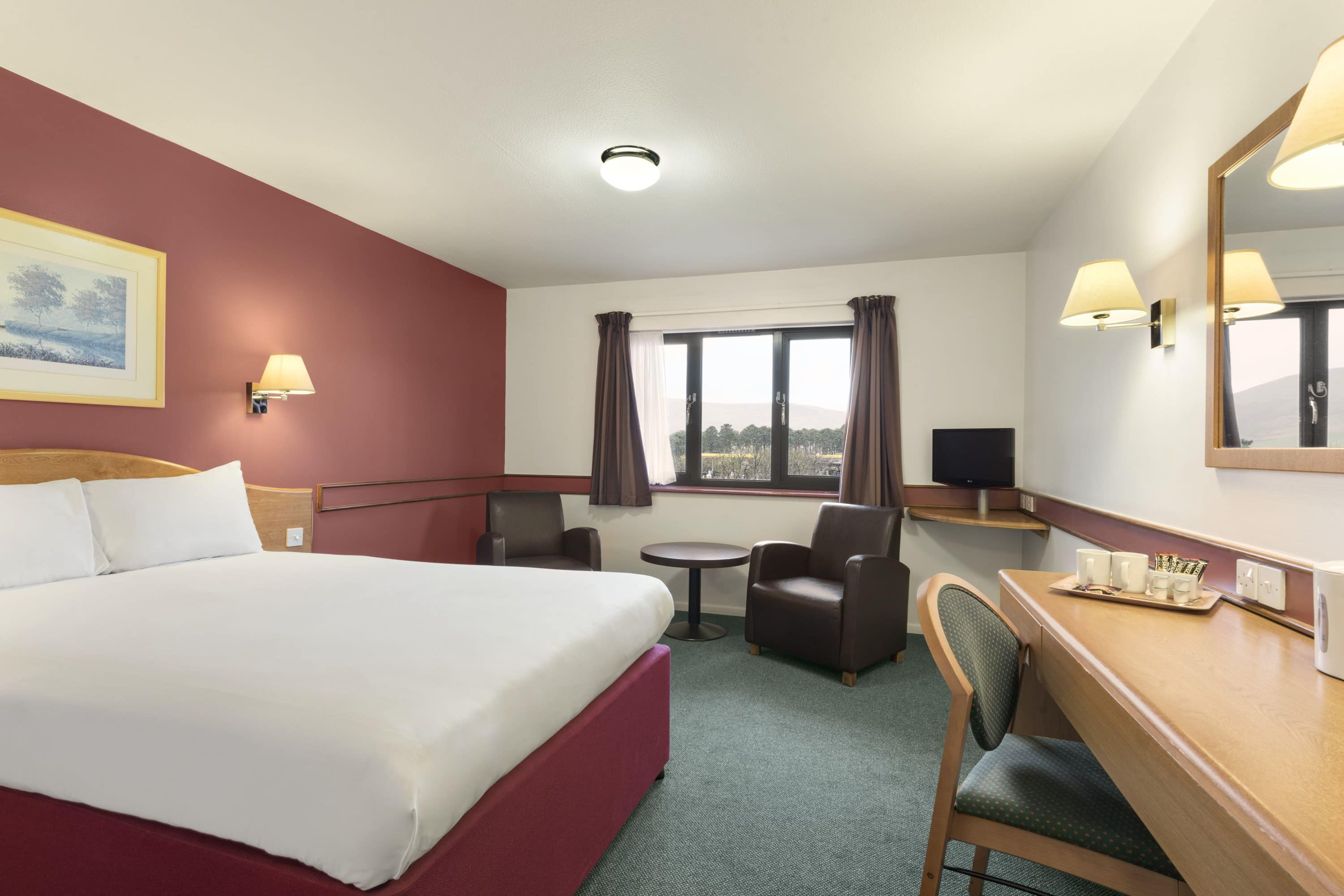 Guest room at the Days Inn Abington M74 in Lanarkshire, Other than US/Canada