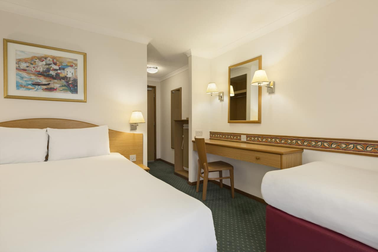 at the Days Inn Leicester Forest East M1 in Leicester, United Kingdom