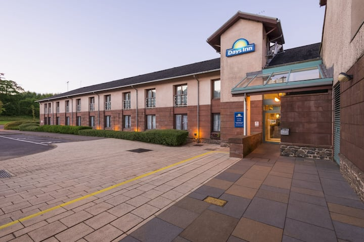 Exterior Of Days Inn Lockerbie Annandale Water Hotel In Other Than Us Canada