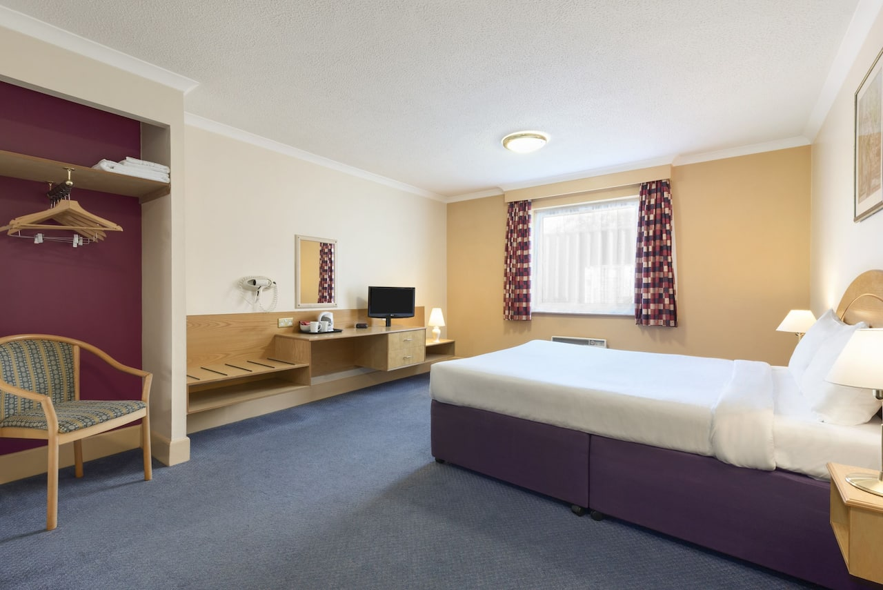 at the Days Inn Watford Gap in Northampton, United Kingdom