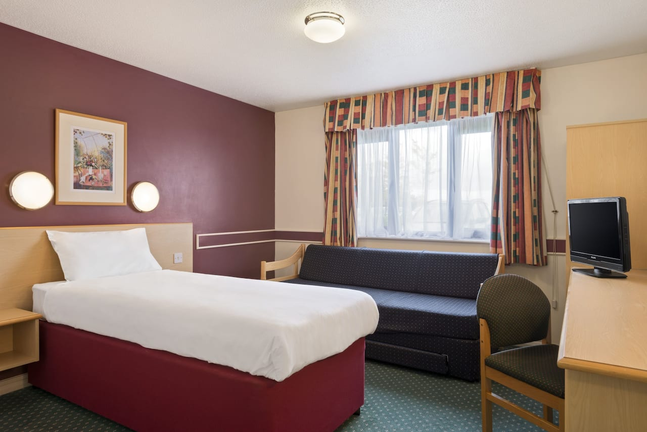 at the Days Inn Sheffield M1 in Sheffield, United Kingdom