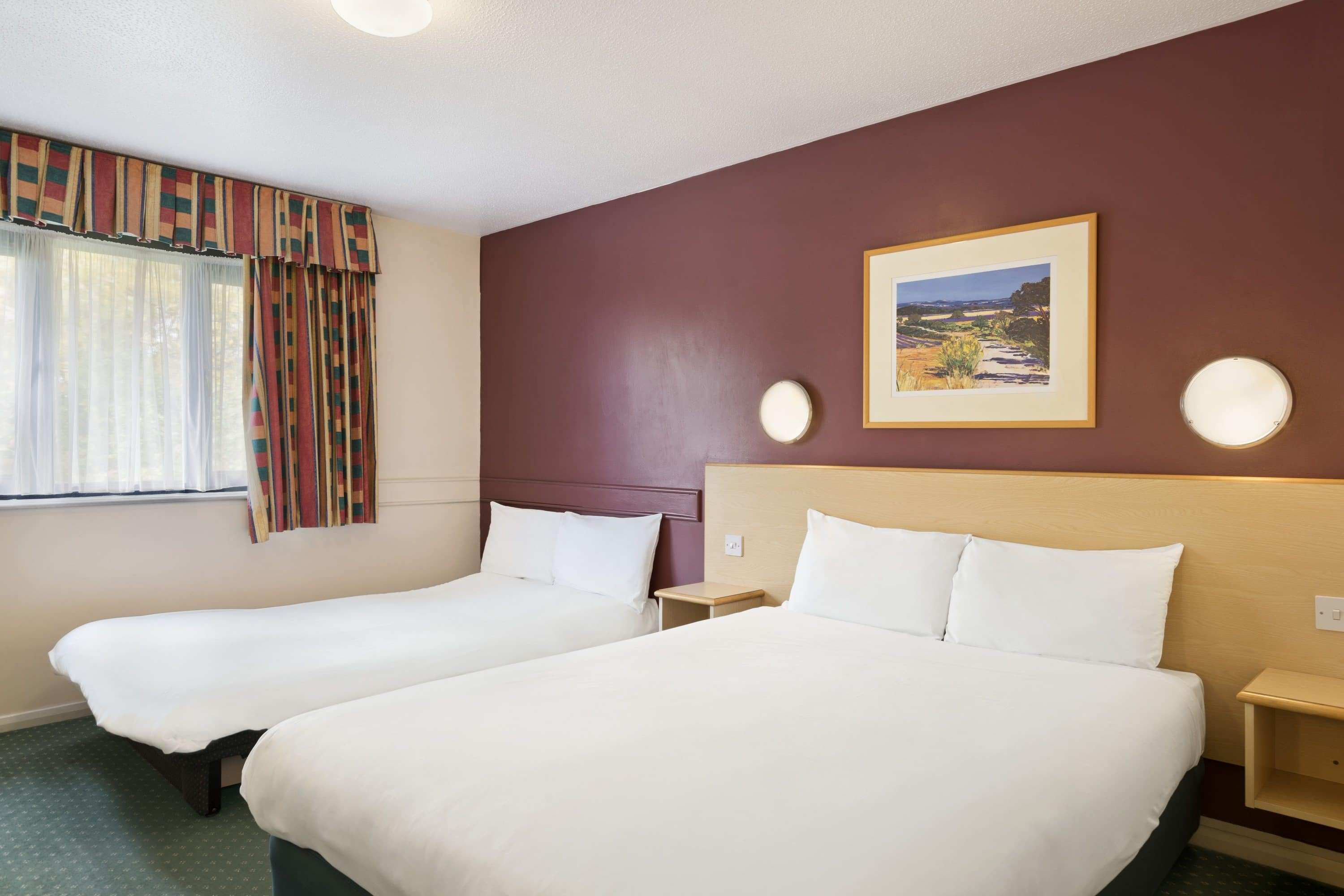 Guest room at the Days Inn Sheffield M1 in Sheffield, Other than US/Canada