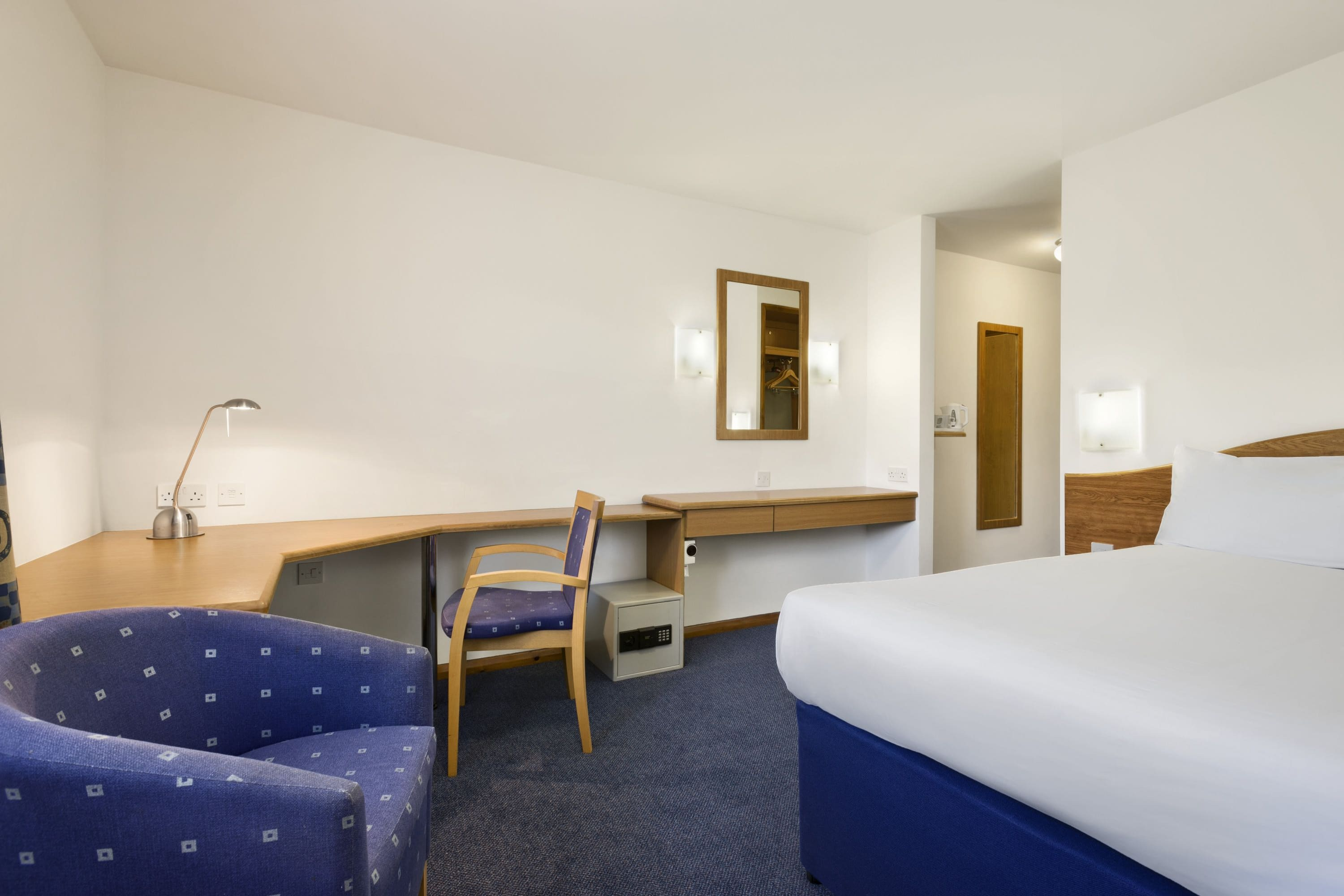 Guest room at the Days Inn Telford Ironbridge M54 in Shropshire, Other than US/Canada