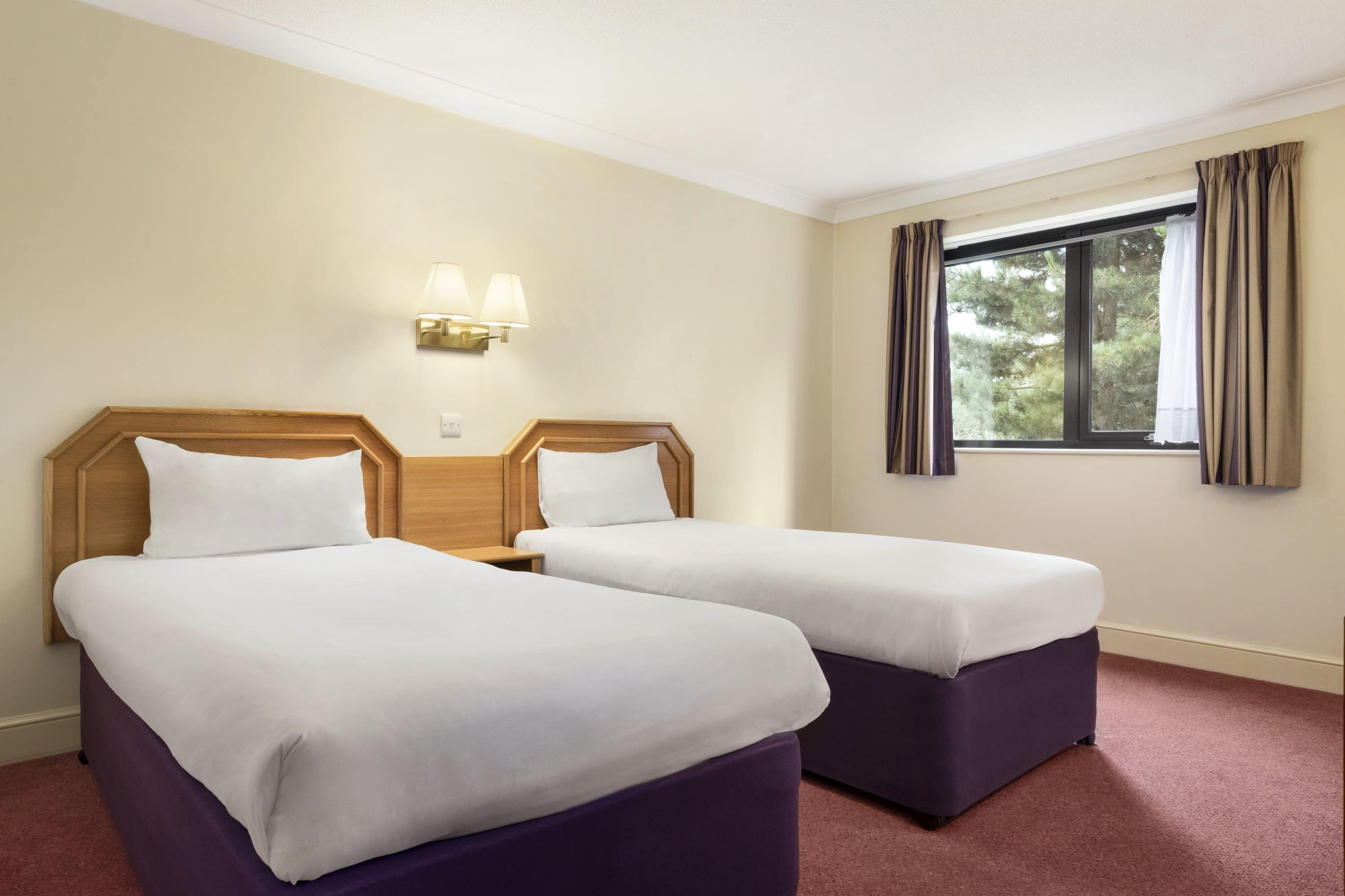 Guest room at the Days Inn Stafford in Stone, Other than US/Canada