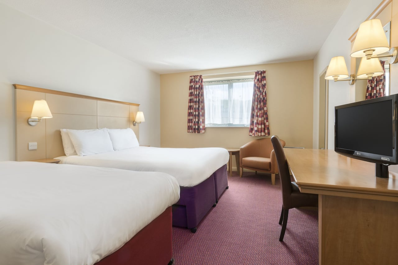 at the Days Inn Winchester M3 in Winchester, United Kingdom
