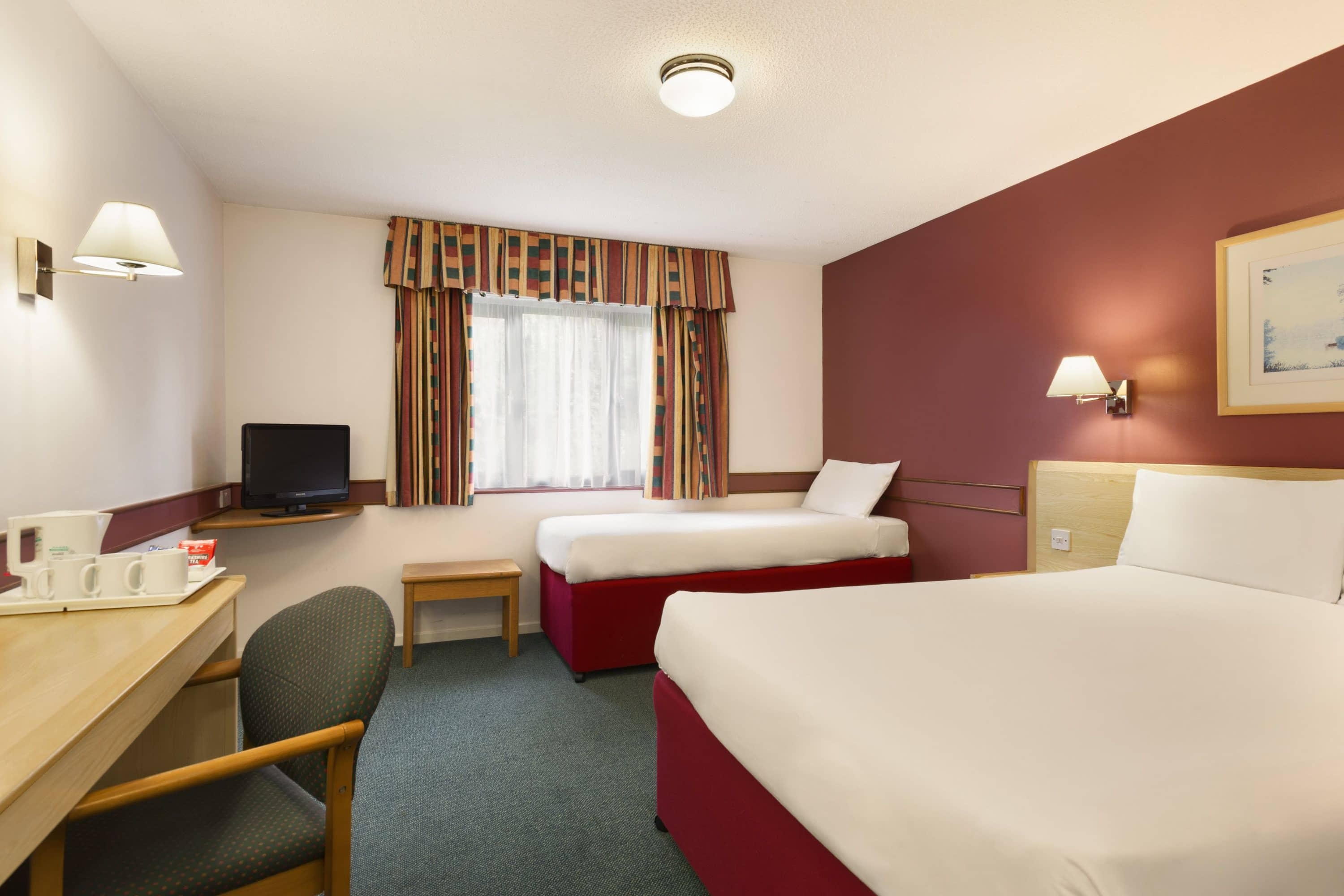 Guest room at the Days Inn Bradford M62 in Yorkshire, Other than US/Canada