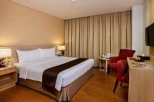 Guest room at the Days Hotel and Suites Jakarta Airport in Tangerang, Other than US/Canada
