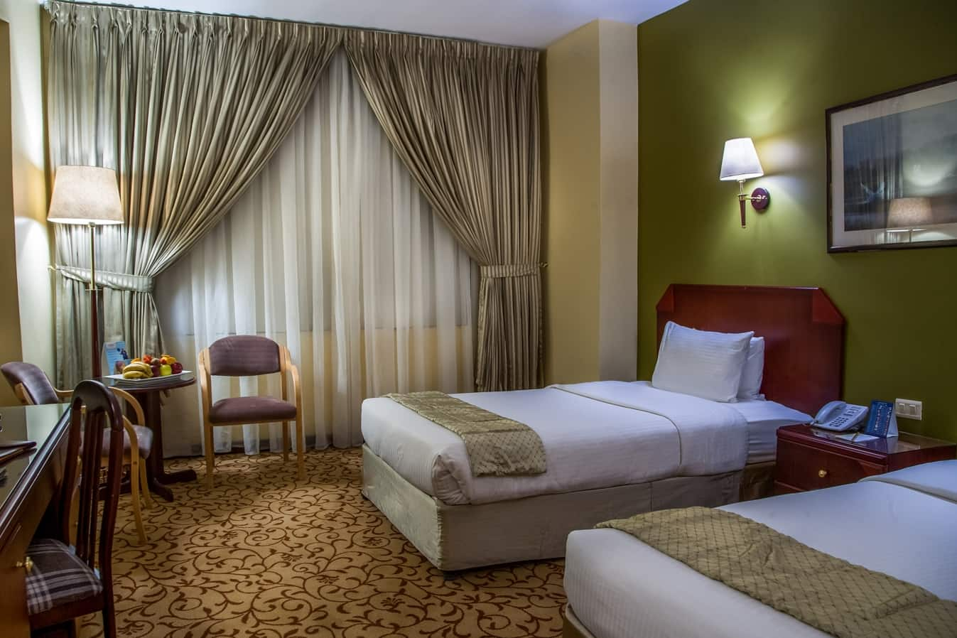 Guest room at the Days Inn Hotel Suites Amman in Amman, Other than US/Canada