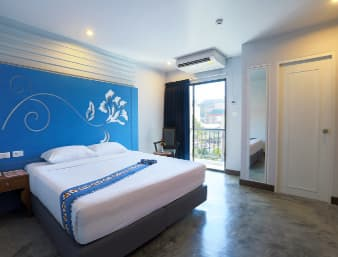 Guest room at the Days Inn Patong Beach Phuket in Phuket, Other than US/Canada