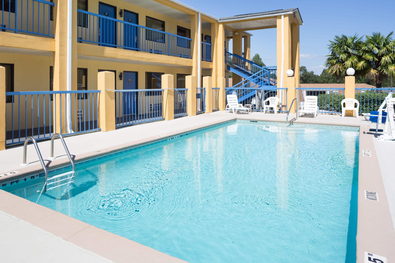 Pool At The Days Inn By Wyndham Enterprise In Enterprise, Alabama