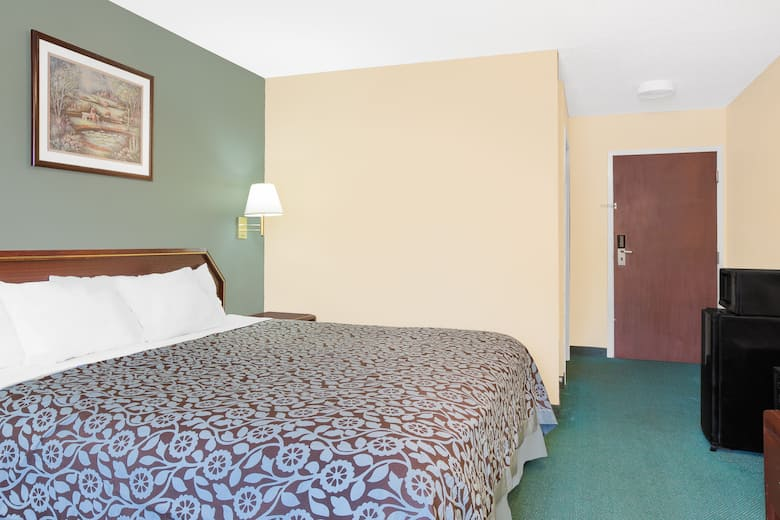 Guest Room At The Days Inn By Wyndham Lincoln In Alabama