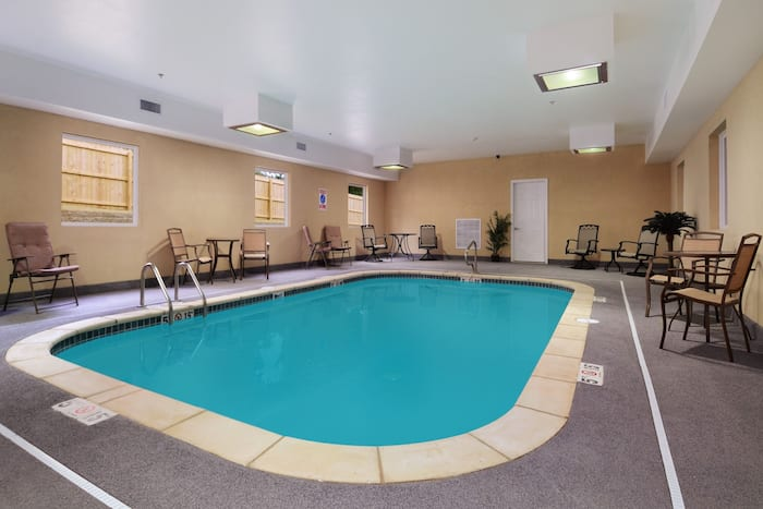 Pool at the Days Inn & Suites by Wyndham Cabot in Cabot, Arkansas
