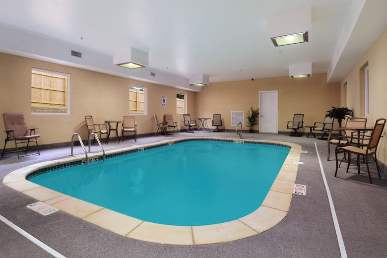 Pool At The Days Inn Suites Cabot In Arkansas