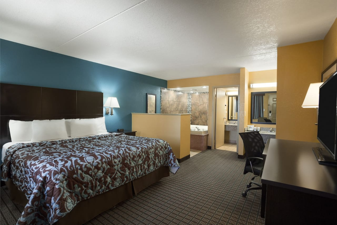 at the Days Inn Conway in Conway, Arkansas