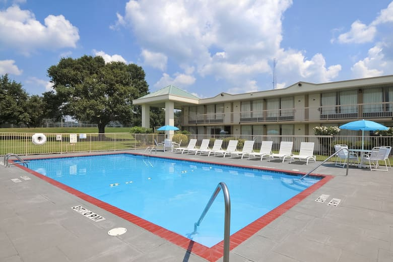 Pool At The Days Inn Forrest City In Arkansas