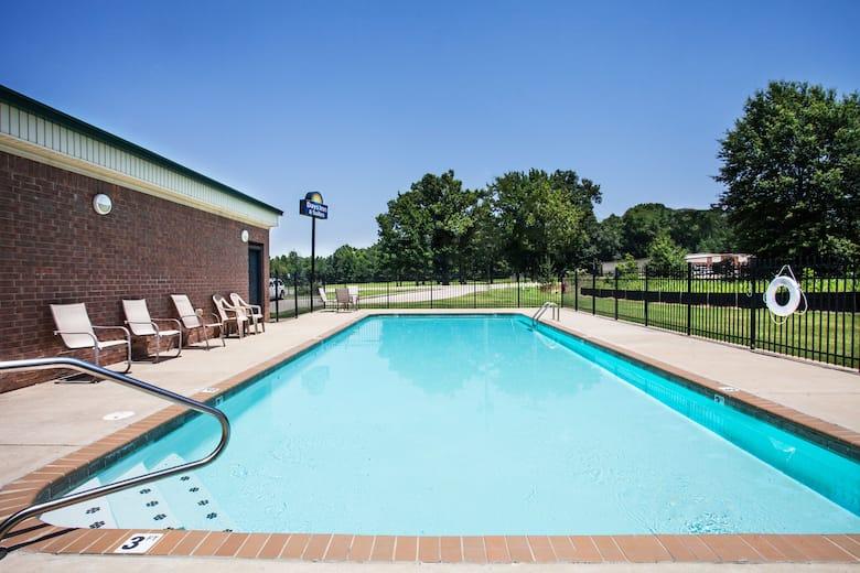 Pool At The Days Inn Suites Wynne In Arkansas