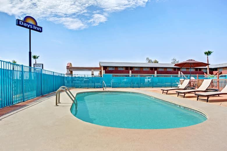 Pool At The Days Inn Eloy In Arizona