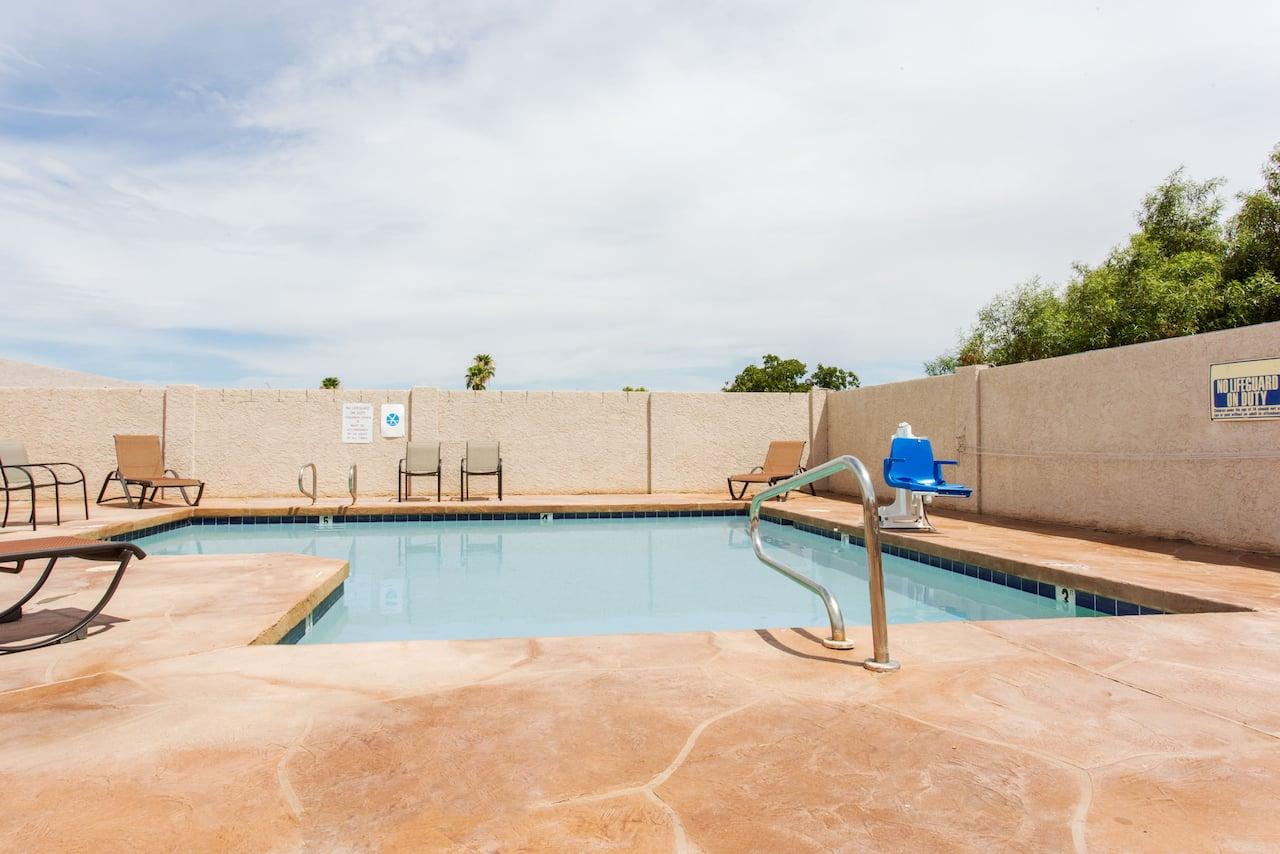 at the Days Inn Mesa East in Mesa, Arizona