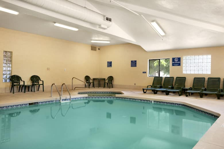 Pool At The Days Inn Suites By Wyndham Payson In Arizona