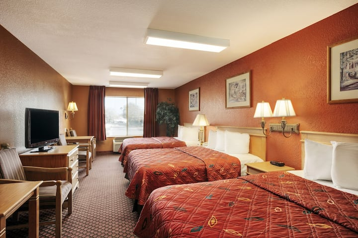 Guest room at the Days Inn & Suites Surprise in Surprise, Arizona