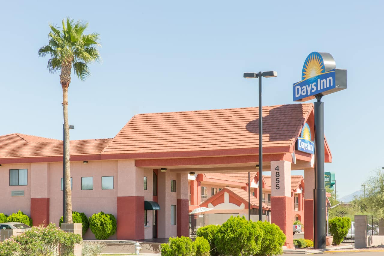at the Days Inn Tucson Airport in Tucson, Arizona