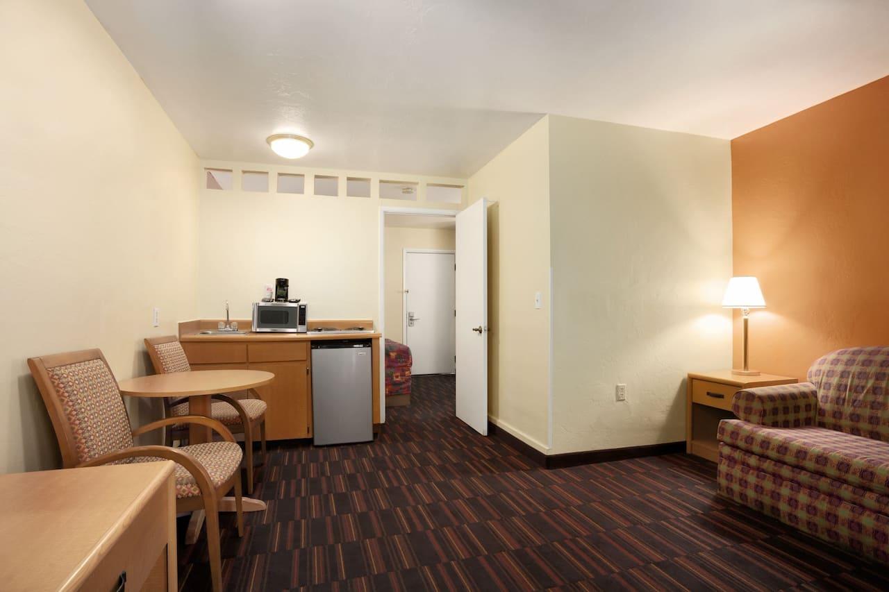 at the Days Inn & Suites Tucson AZ in Tucson, Arizona