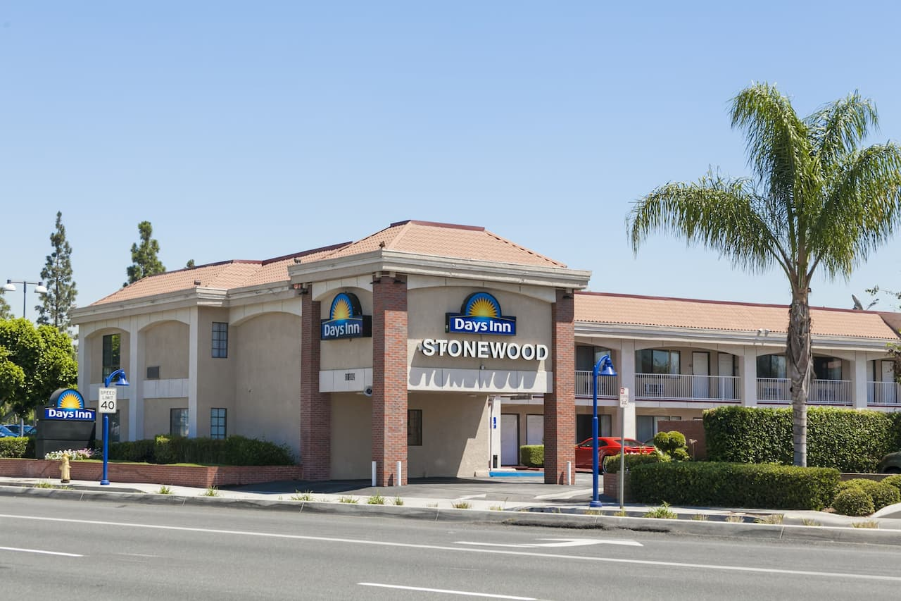 at the Days Inn Downey in Downey, California