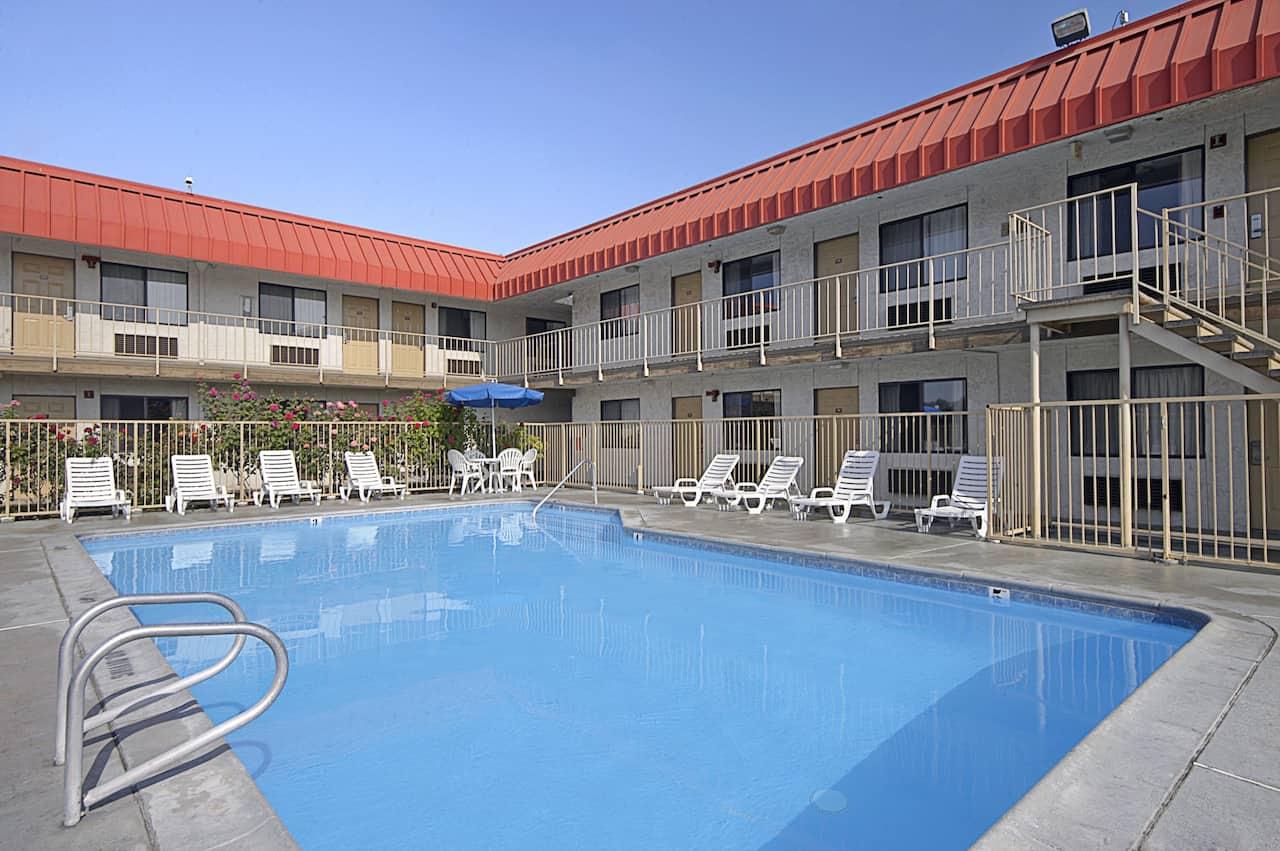 at the Days Inn Fresno South in Fresno, California