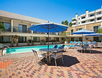 at the Days Inn Hollywood Near Universal Studios in Hollywood, California