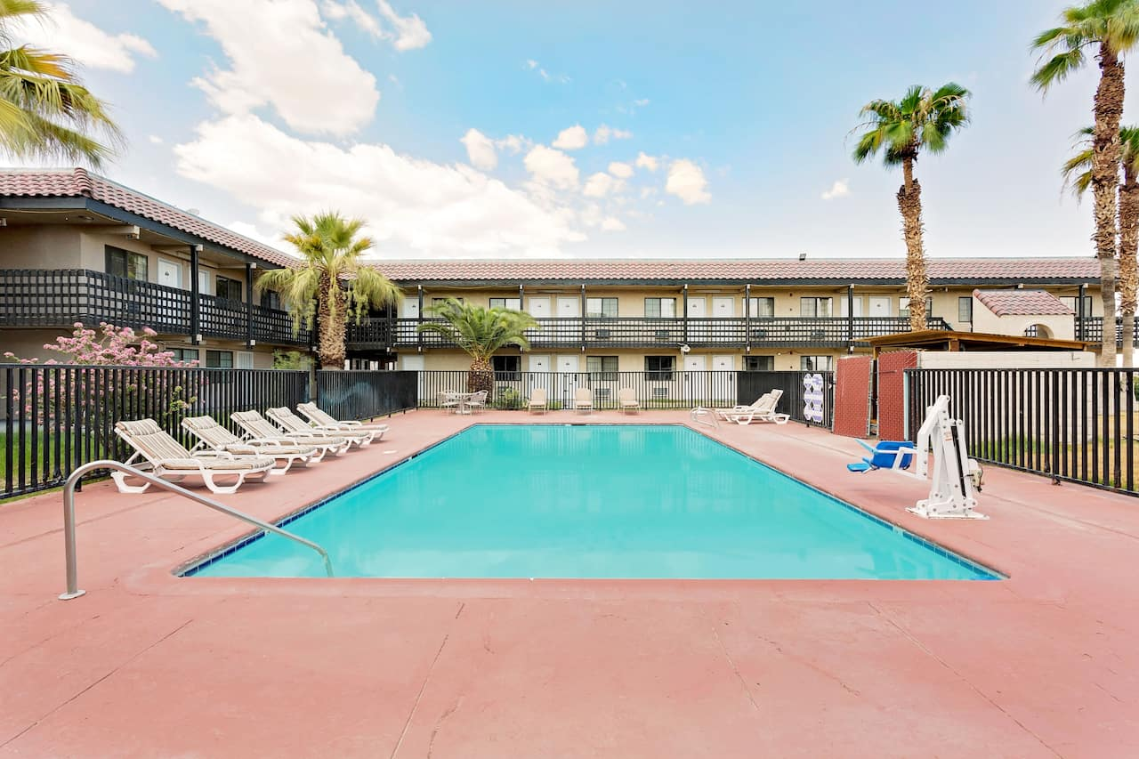 at the Days Inn & Suites Needles in Needles, California