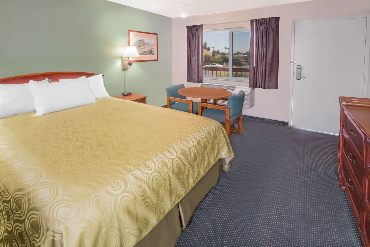 at the Days Inn Ontario Airport in Ontario, California