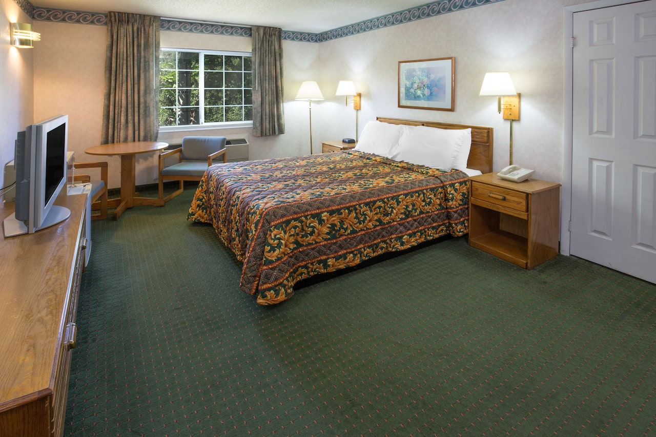 at the Days Inn Oroville in Oroville, California