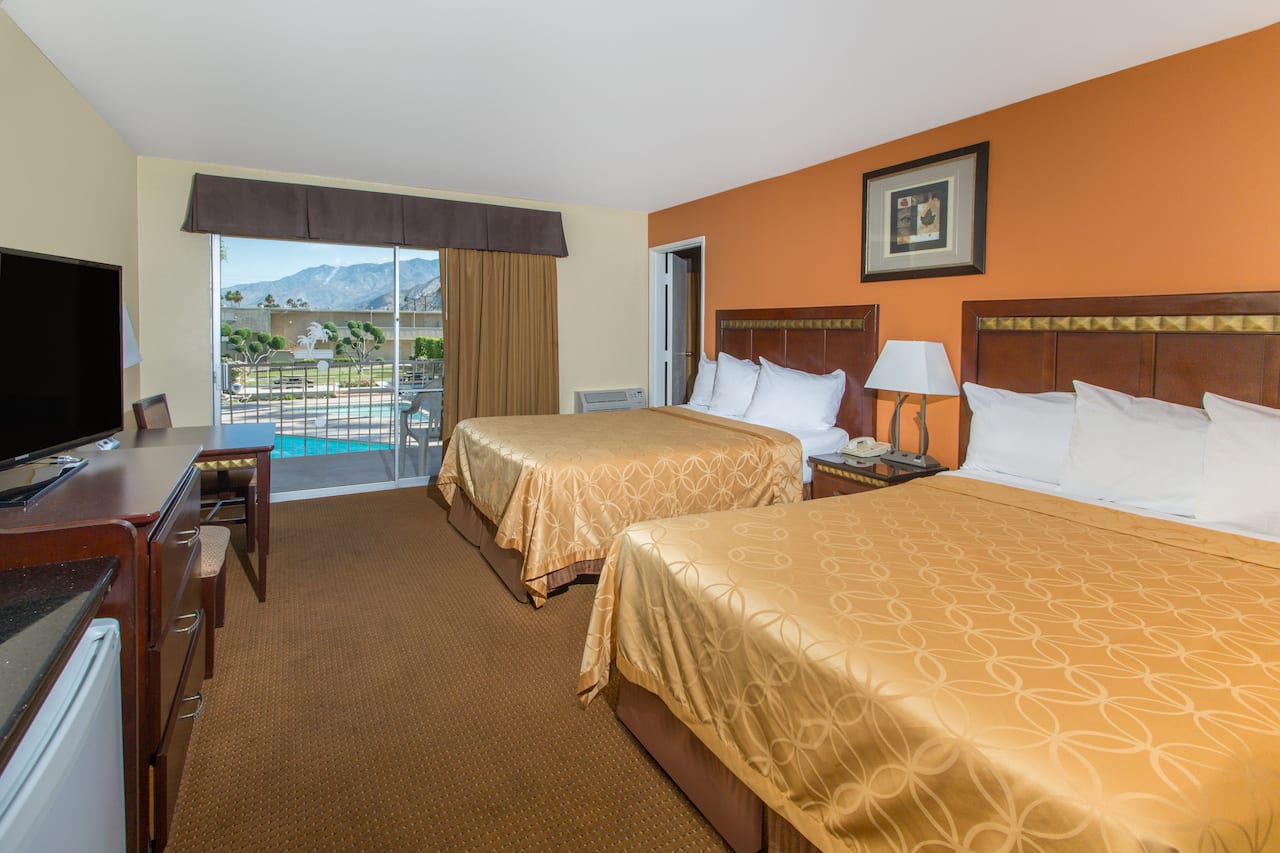 at the Days Inn Palm Springs in Palm Springs, California