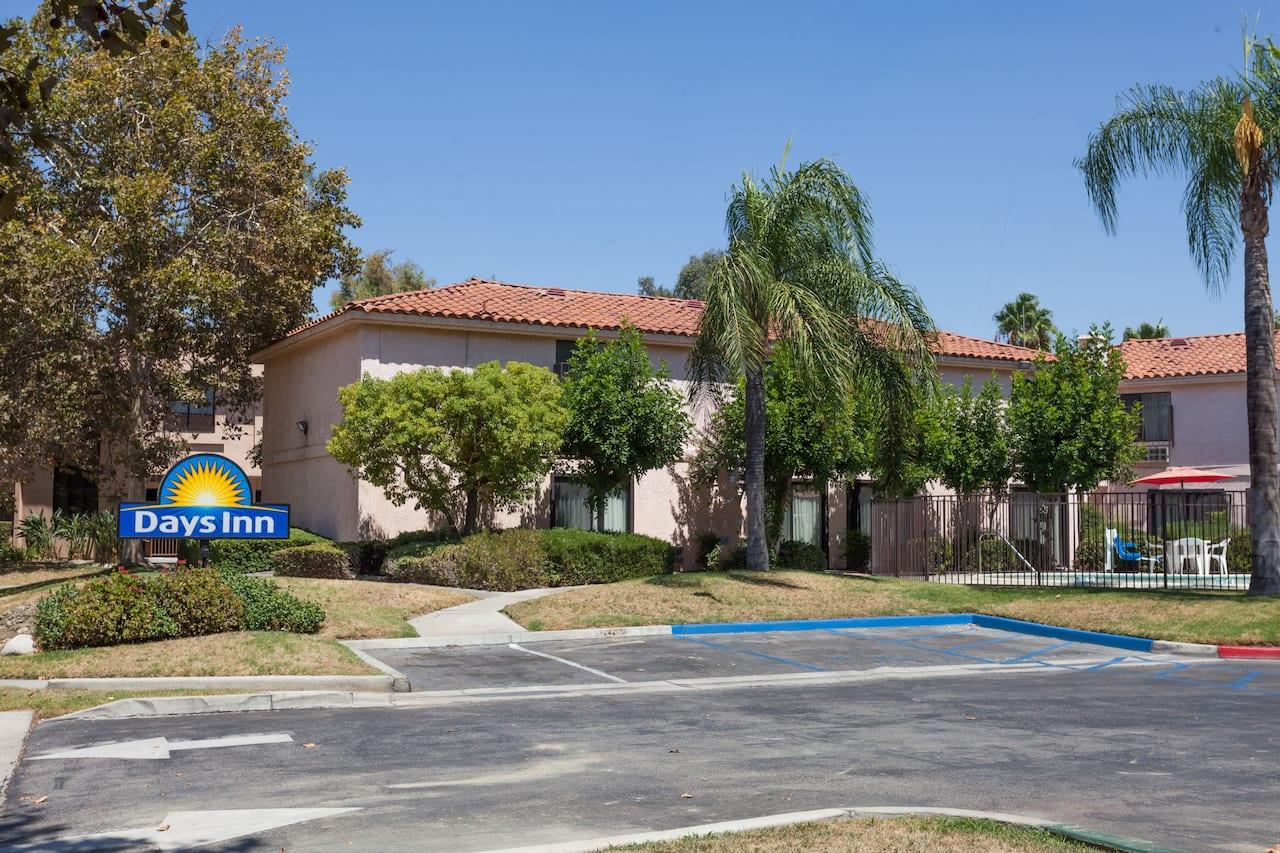 at the Days Inn San Bernardino/Redlands in San Bernardino, California