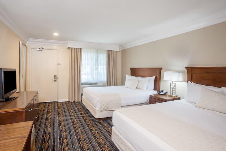 Guest room at the Days Inn San Diego Hotel Circle Near SeaWorld in San Diego, California