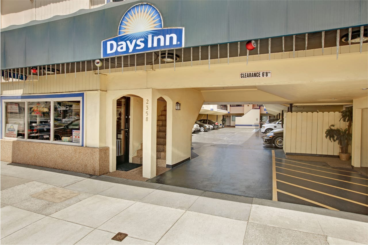 at the Days Inn San Francisco - Lombard in San Francisco, California