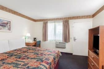 Guest room at the Days Inn San Marcos in San Marcos, California