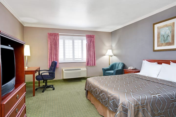 Guest room at the Days Inn of West Covina in West Covina, California