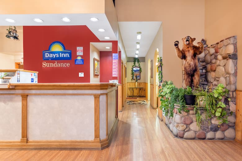 Days Inn Delta Co Hotel Lobby In Colorado