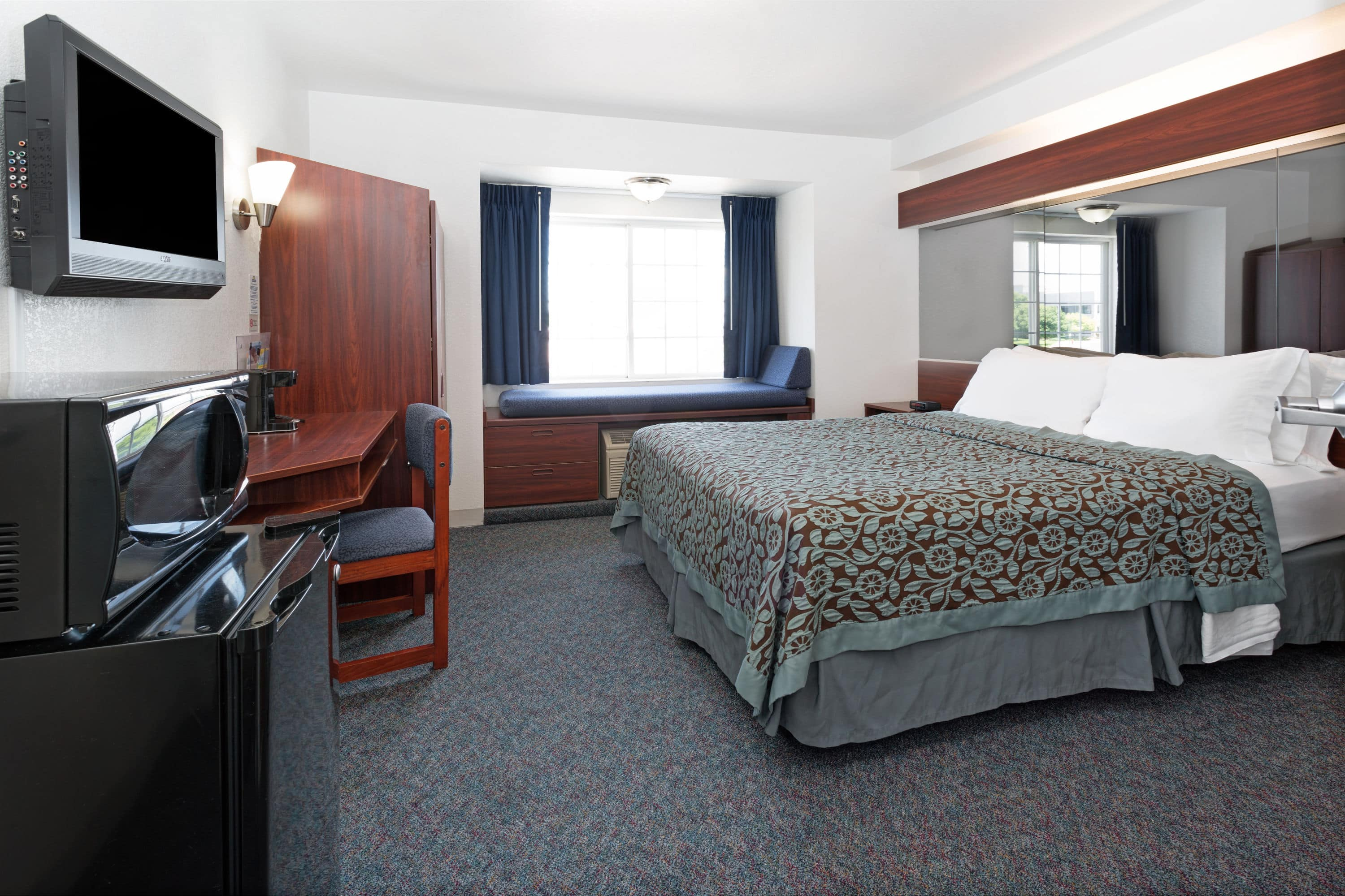 Guest room at the Days Inn Greeley in Greeley, Colorado