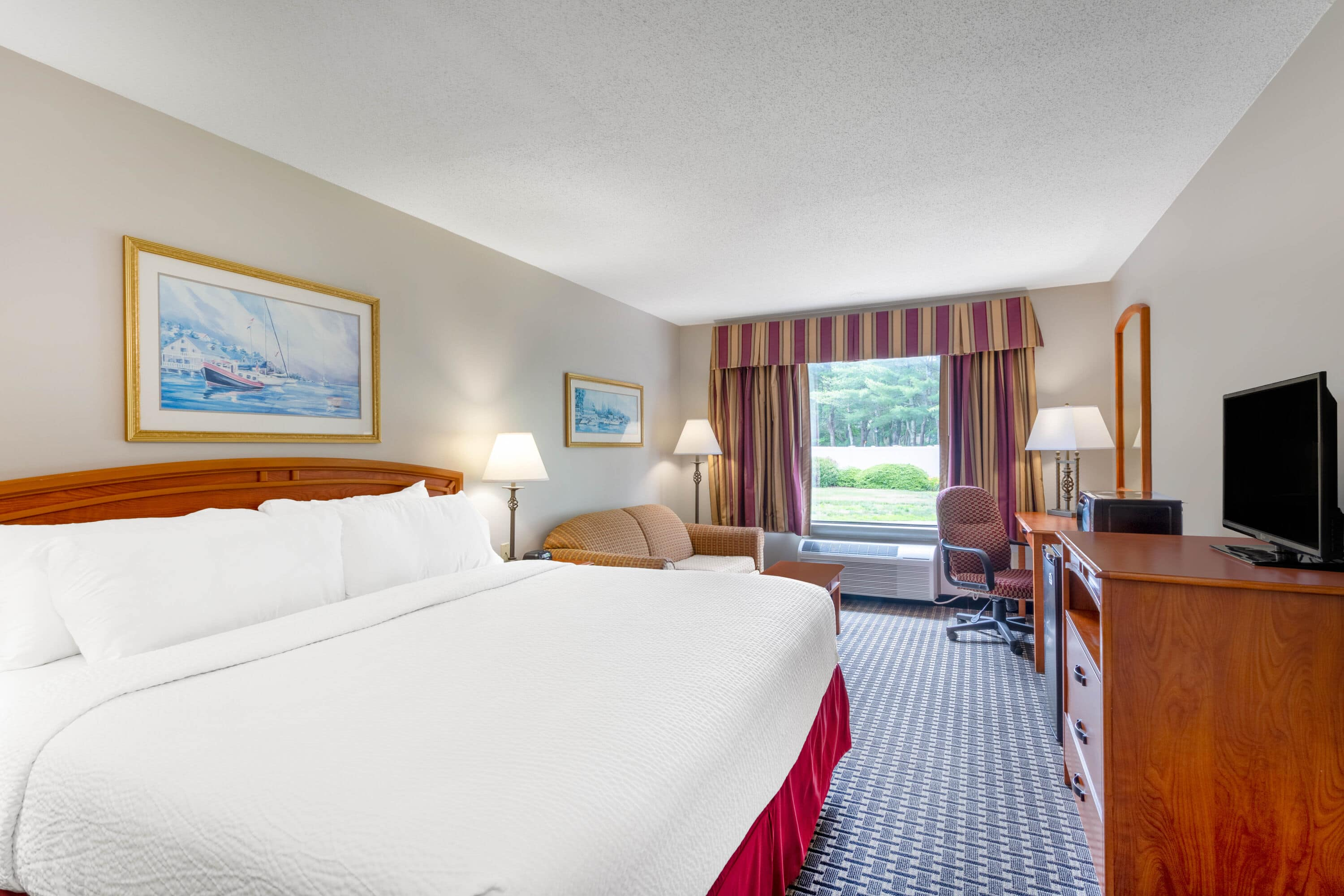 Guest room at the Days Inn - Mystic in Mystic, Connecticut