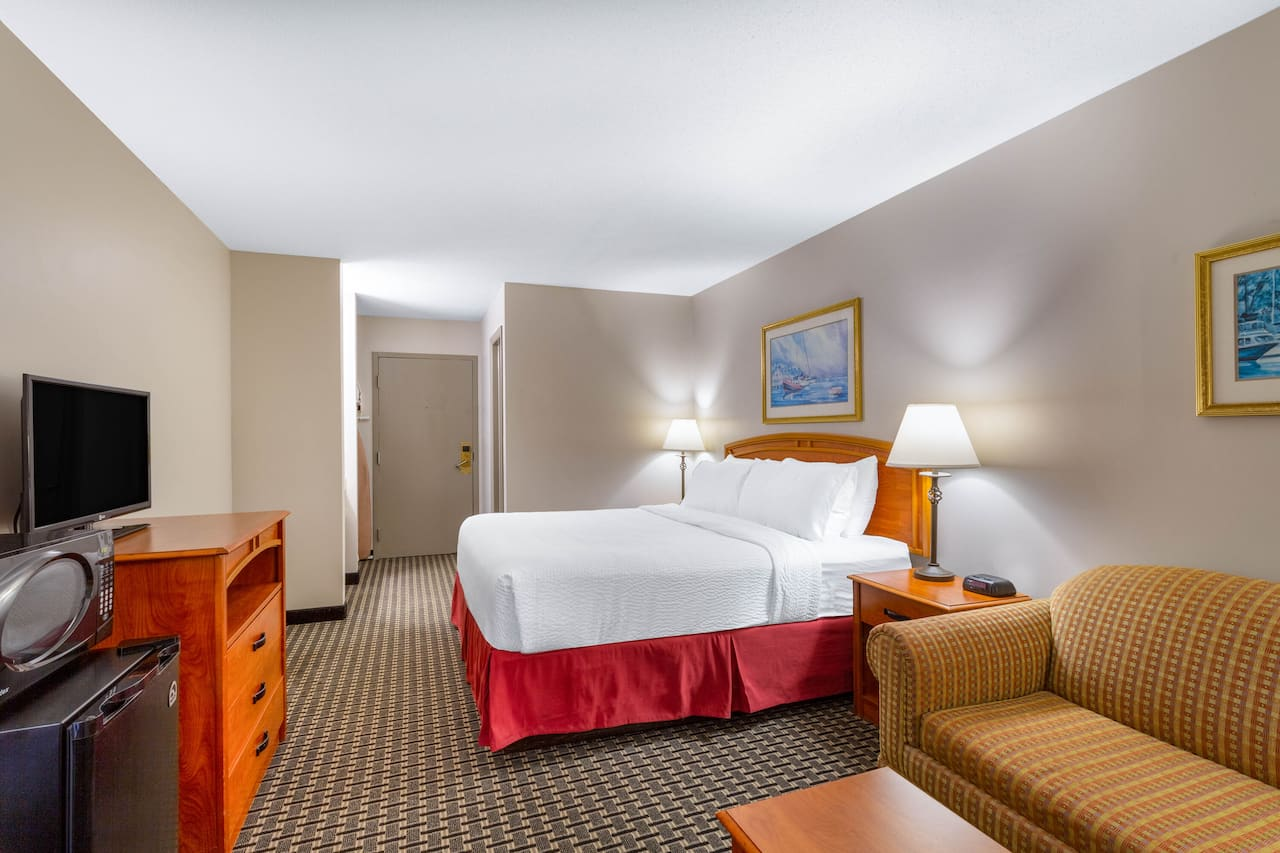 at the Days Inn - Mystic in Mystic, Connecticut